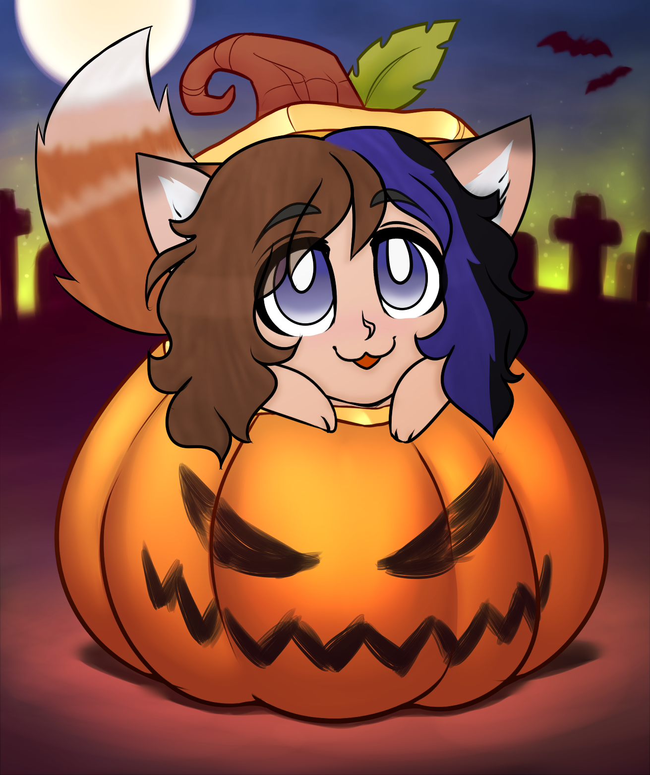 Art Trade/Commission YCH Pumpkin by RoseandherThorns