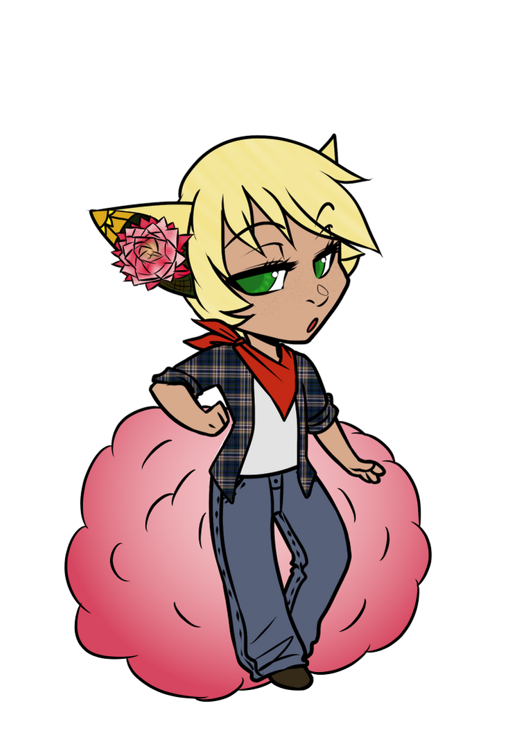 MYO Bloompuff by RoseandherThorns