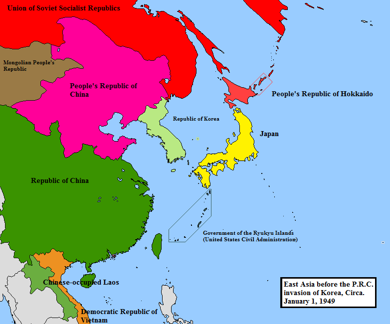 East asia circa 1949 alternate cold war 1949 by edgarallenyolo on east asia circa 1949 alternate cold war 1949 by edgarallenyolo gumiabroncs Gallery