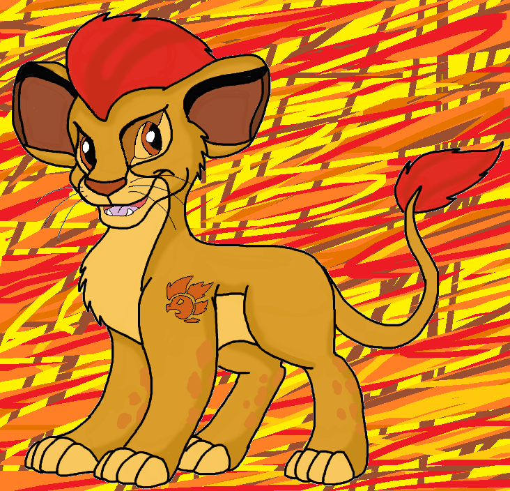 Kion the lion guard by crystal2riolu