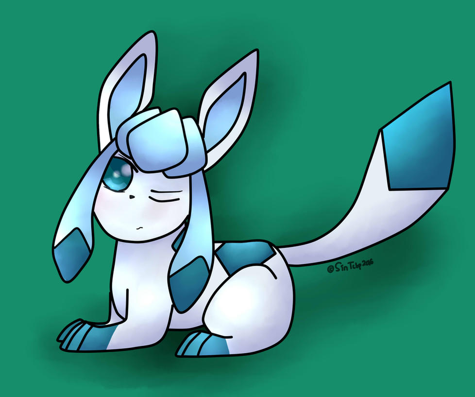 Tsundere Glaceon by Sinthatcannotbepaid