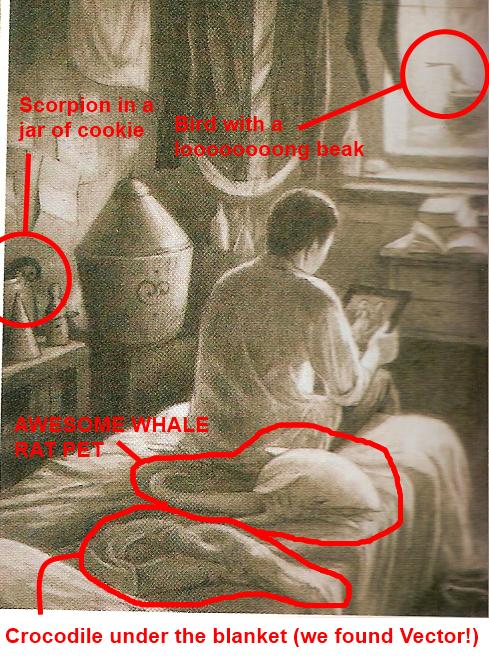 Randomeness in da english book by chibishadow8