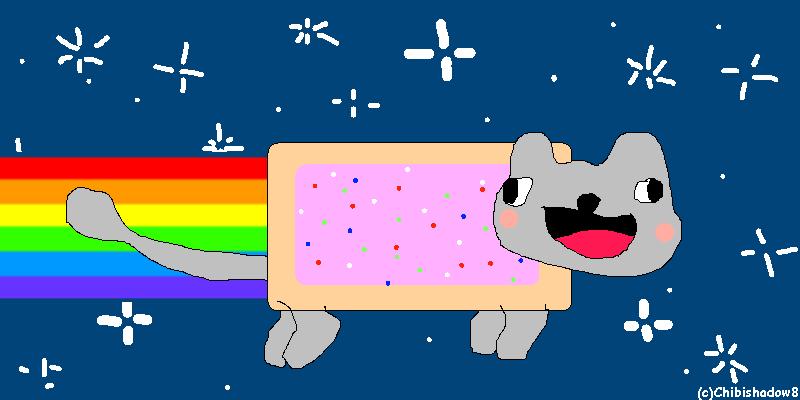 Derp Nyan Cat . D . by chibishadow8 on DeviantArt