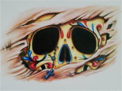 sugar skull by MADMAN-1805