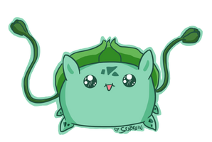 Day 4: Draw Your Favorite Starter by seabrain