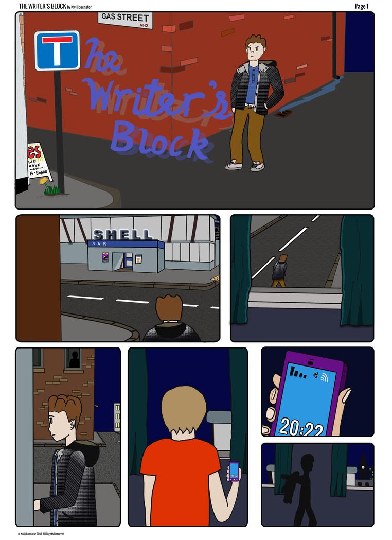 The Writer's Block by kwijiboenator
