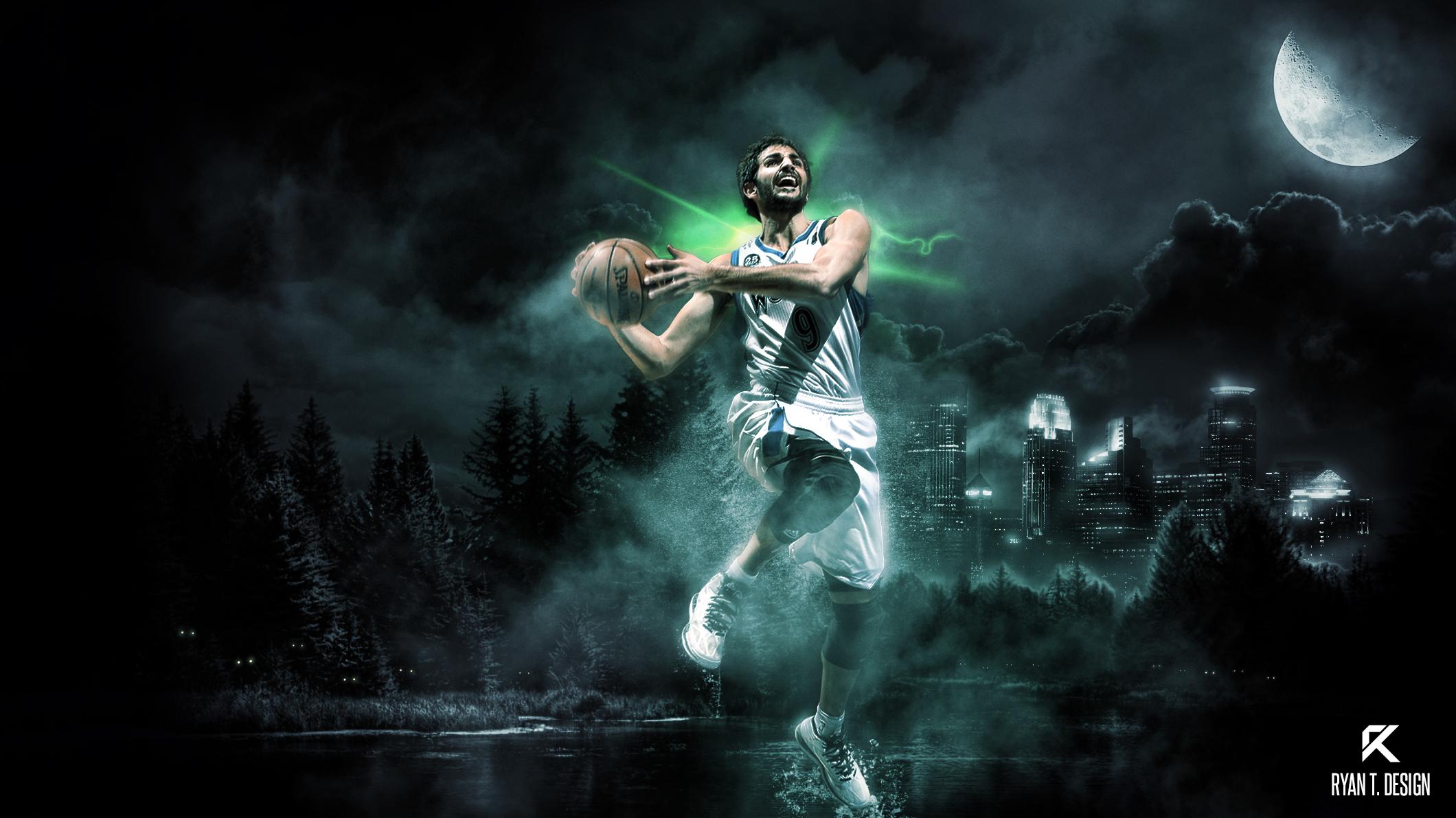 Ricky Rubio - Wolfman by Ryz0n