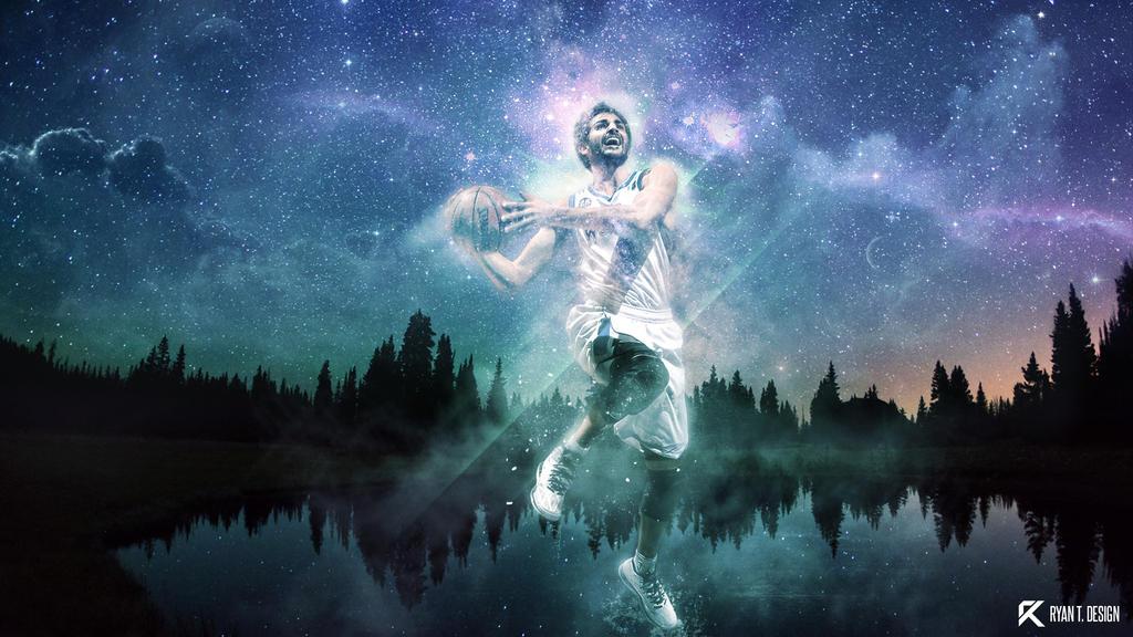 Ricky Rubio - To the stars by Ryz0n