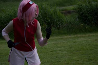 Sakura is ready for battle by RumBelle