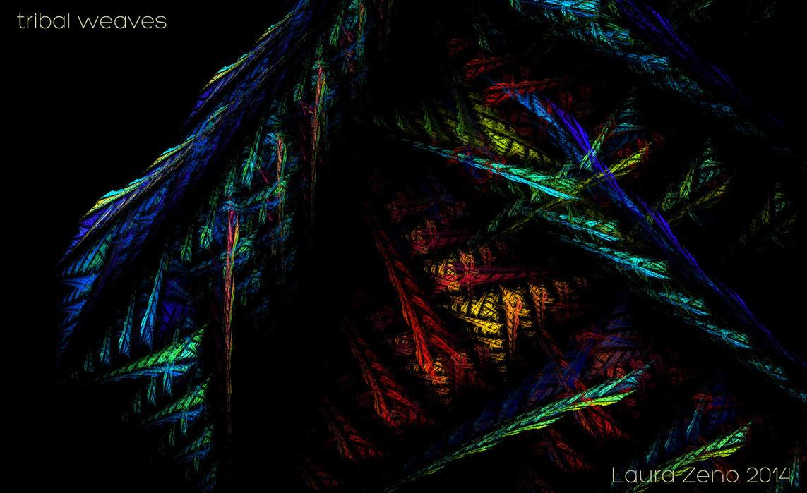 Tribal weaves by ellezeno