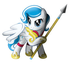 OC Comission - Winterspear by J-Zykov