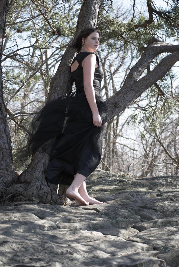 Black Dress II by spectral-stock