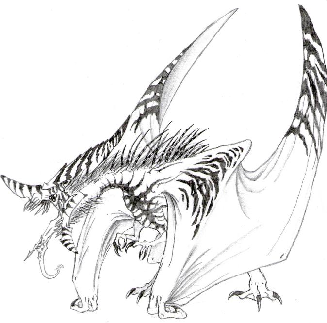 Hybrid Dragon by IL-JA on DeviantArt