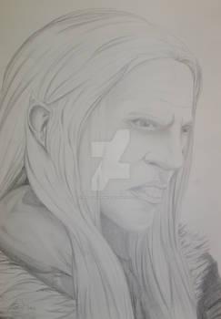 Dark Elf Drawing