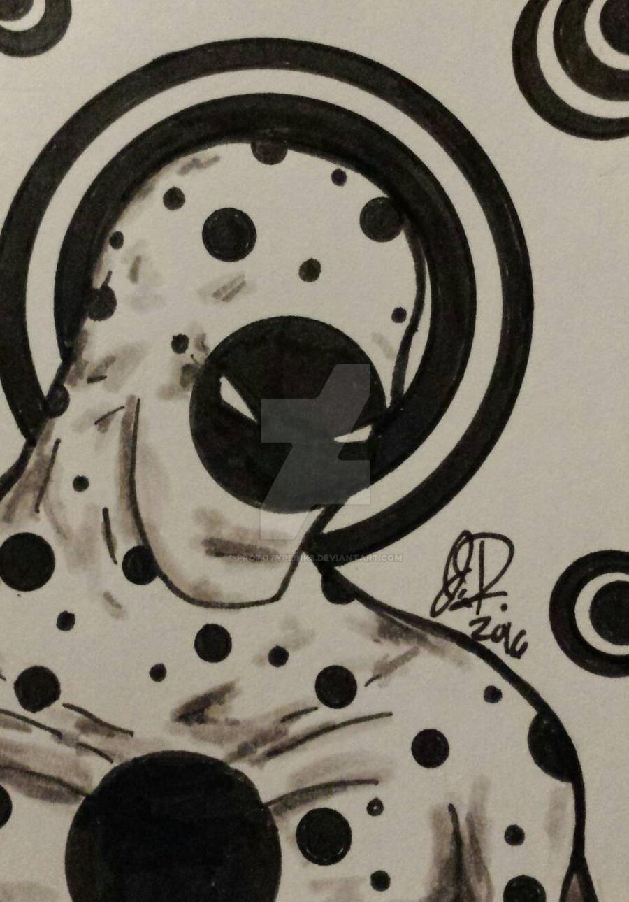 Spidey Sense fan art atc