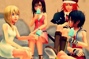 Girl Talk by Axelxlea