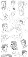 Supernatural collage 3 by DeanGrayson