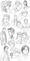 Supernatural collage 4 by DeanGrayson
