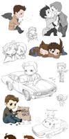 Supernatural collage 7