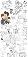 Supernatural collage 9 by DeanGrayson