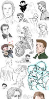 Supernatural collage 12 by DeanGrayson