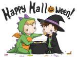 Lucifer + Castiel Halloween