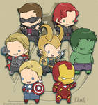 Avengers chibies