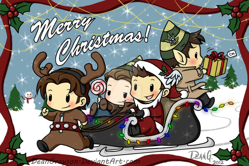 Supernatural Christmas by DeanGrayson