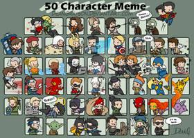 50 character meme