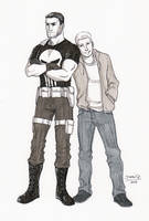 Punisher and Henry by DeanGrayson