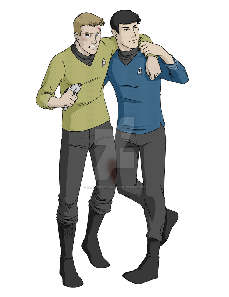 Pilot script for the TAS that (thankfully) never was ... |Drawing Cute Cartoon Star Trek Kirk