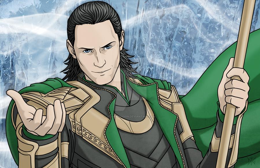 Loki by DeanGrayson