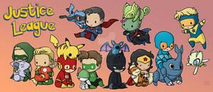 Justice League Pokemon