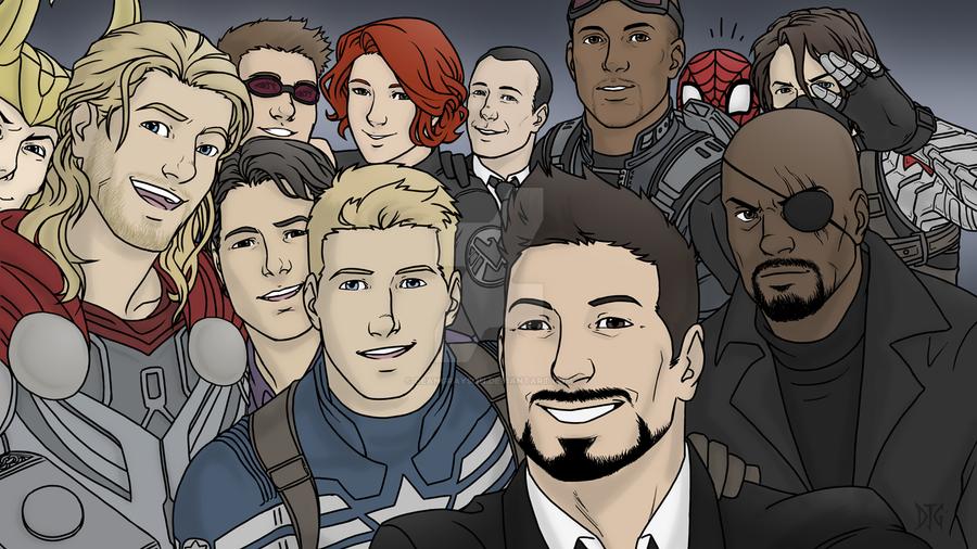 Avengers Assemble! by DeanGrayson
