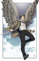 Commission - Castiel by DeanGrayson