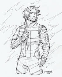 Commission Bucky Civil War by DeanGrayson