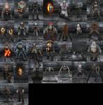 Doom 3,Resurrection of Evil,Lost Mission Monsters