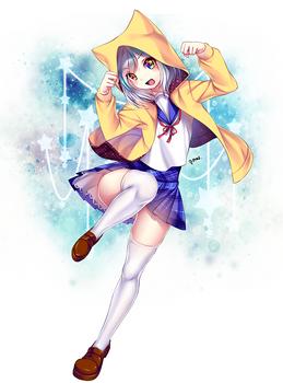 ArtTrade: YIN for KitsuneYin