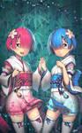 Re:Zero kara Hajimeru Isekai Seikatsu- Rem and Ram