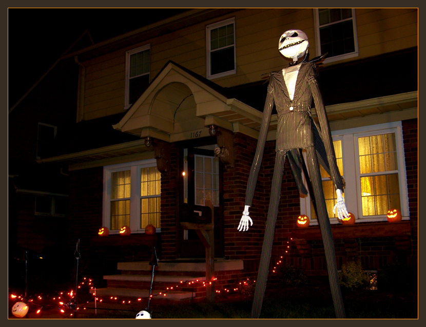 JackSkellington YardDecoration by kaedralynn