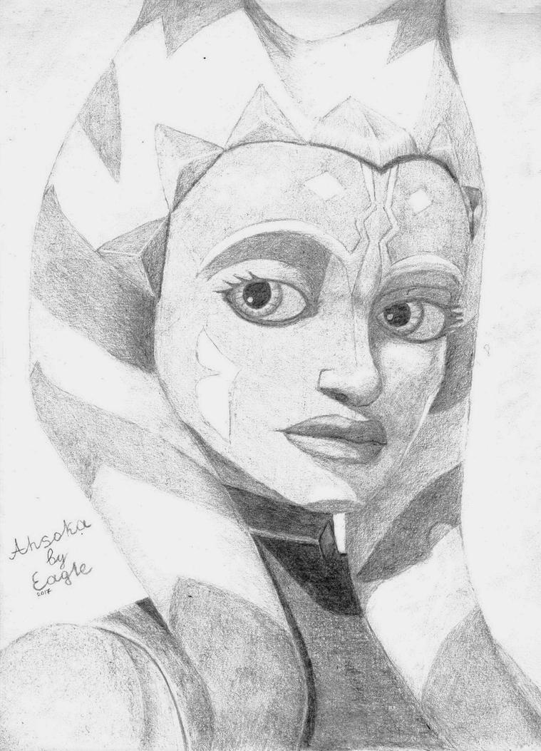 Sad Ahsoka by 1Eagle1