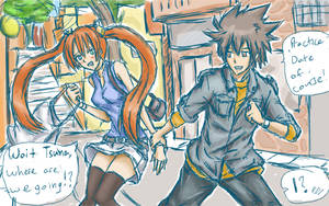Crossover couple Anyone? by PandaDude17