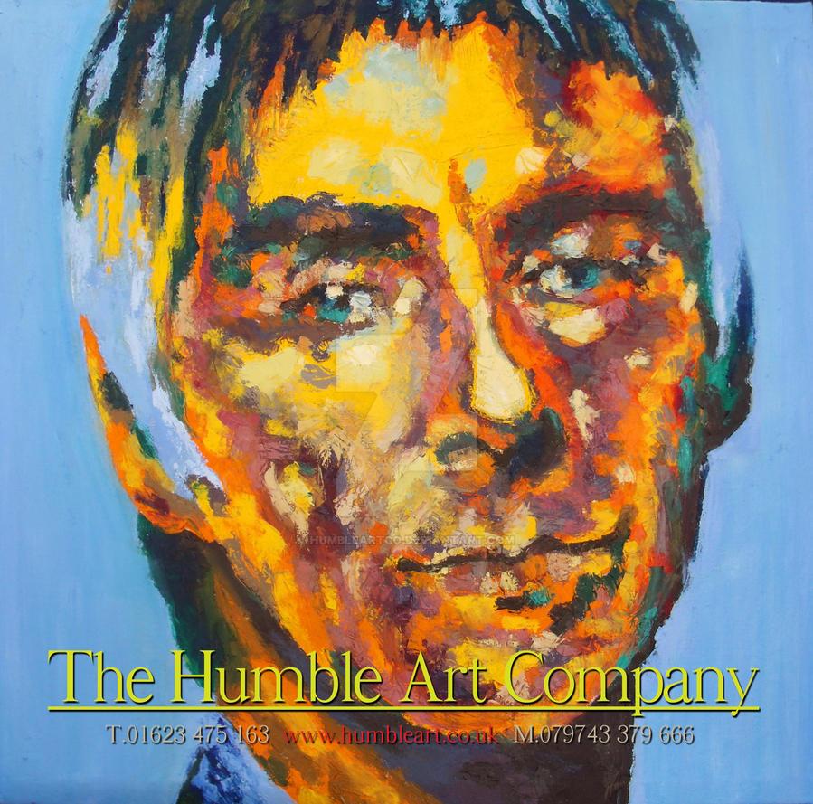 Paul Weller Portrait by HumbleArtCo