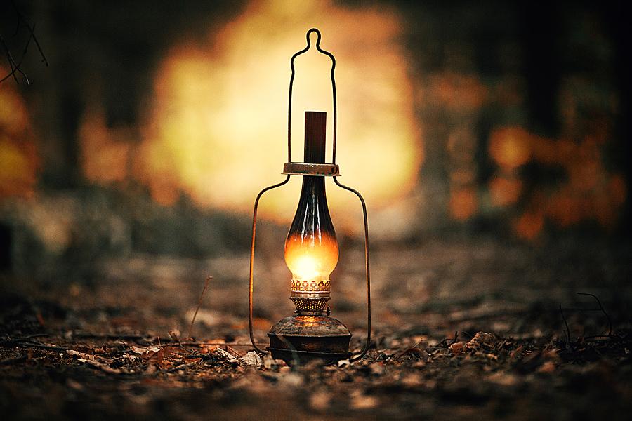 lamp, light