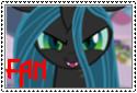Queen Chrysalis Fan Stamp by ZekroRaptor