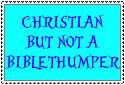 I'm no biblethumper