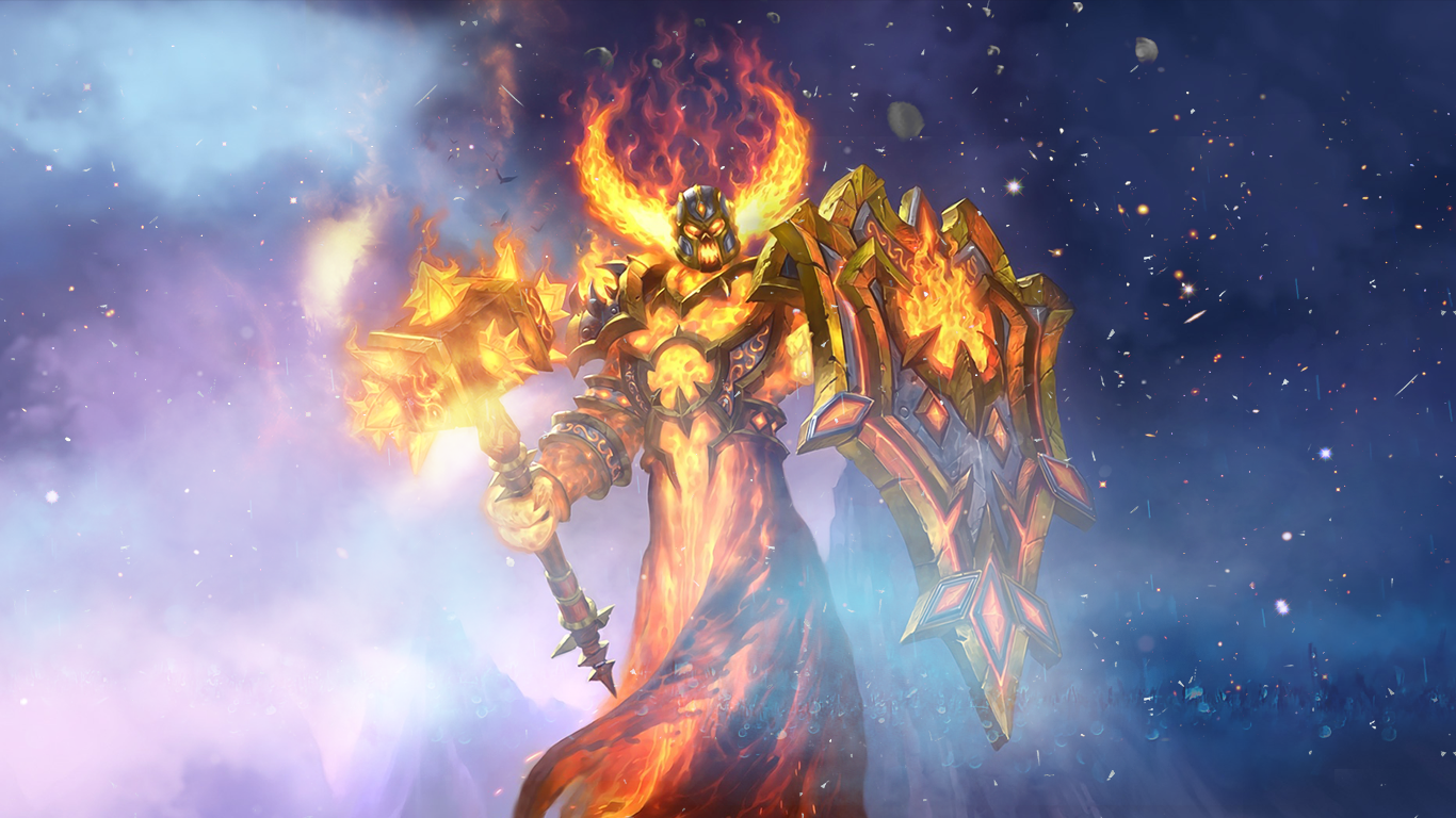 ragnaros the lightlord wallpaper by maiconcrvg on deviantart