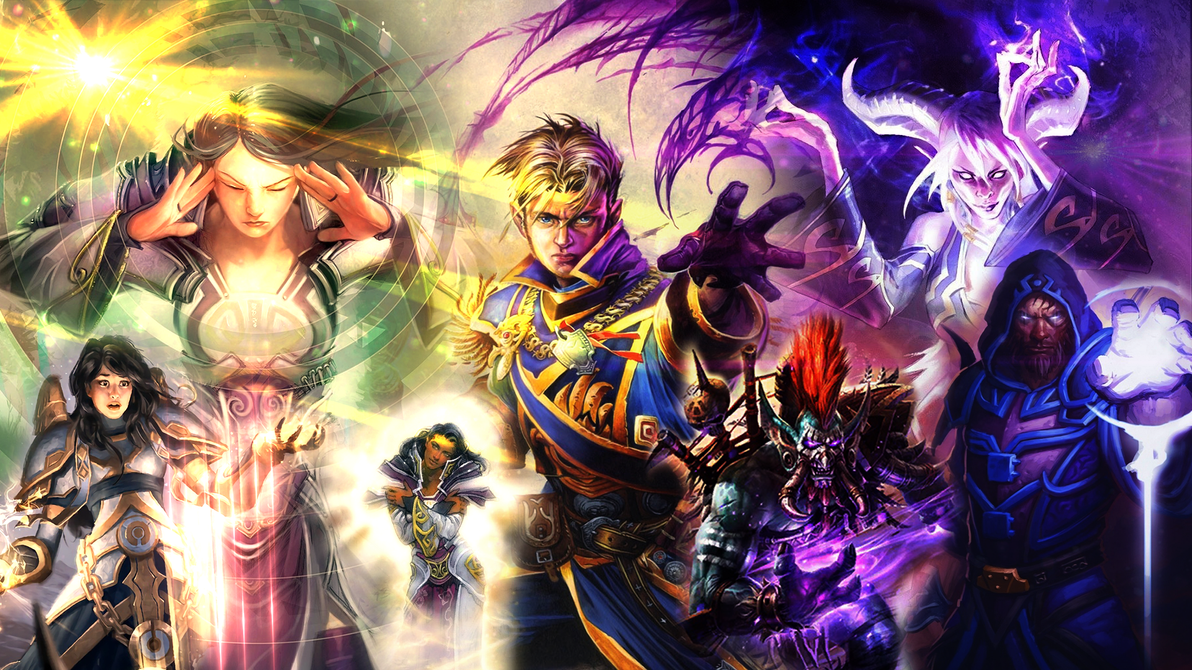Priest Wallpaper Hearthstone By Maiconcrvg On