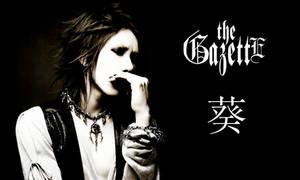 Aoi : the Gazette