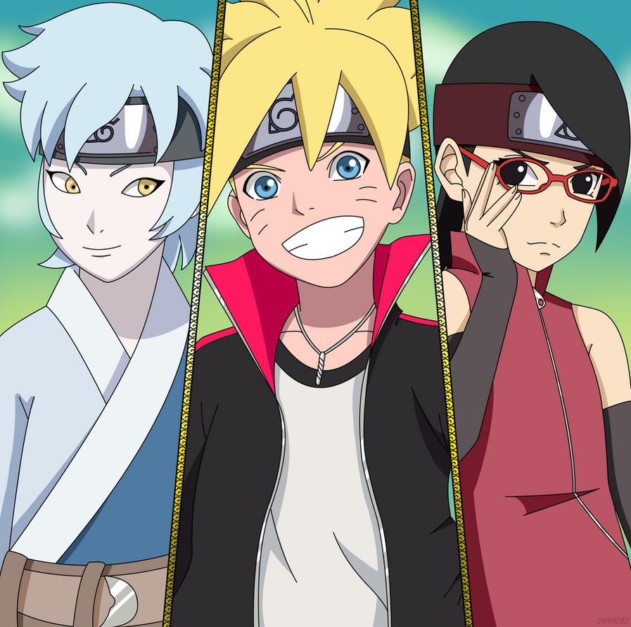Next Generation: Mitsuki, Boruto, Sarada By